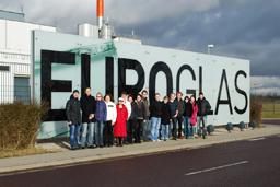 Exkursion zur Floatglasanlage der Euroglas GmbH