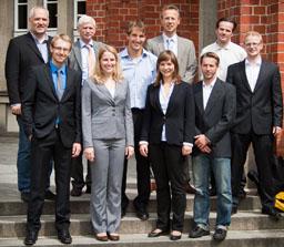 Jury und Teilnehmer ZÜBLIN-Stahlbau-Preis