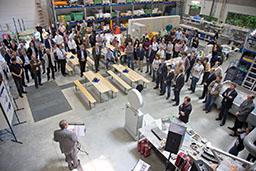 Eröffnung des Alfred-Hütter-Labors