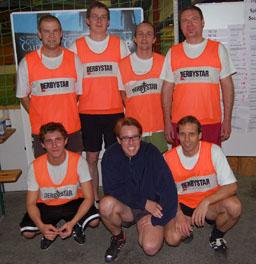 Soccer-Team der Fakultät