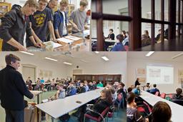 Impressionen Schnupperstudium 2012