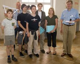 Preisträger  Papierbrückenwettbewerb