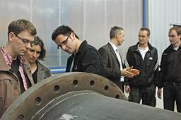 Stahlbau-Exkursion