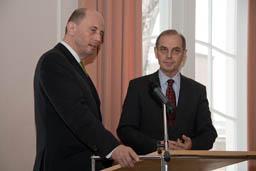 Minister und Rektor